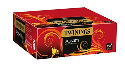 Twinings Assam String & TAG Rich and Strong Black Tea 100 Tea Bags
