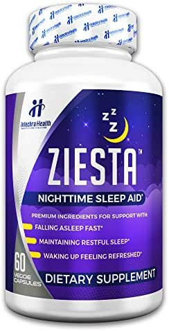 Ziesta™ Sleep Aid - Fall Asleep Fast with Ziesta Premium Natural Sleep Supplement - 60 Sleeping Pill Capsules