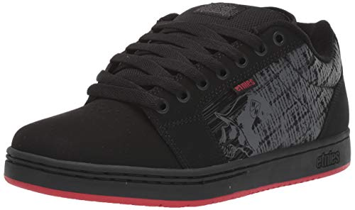 Etnies Mens Metal Mulisha Barge XL Black Athletic Skate Shoes 11