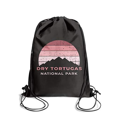 Dry Tortugas National Park Unisex Drawstring Bag Storage Waterproof Hiking Sports Backpack