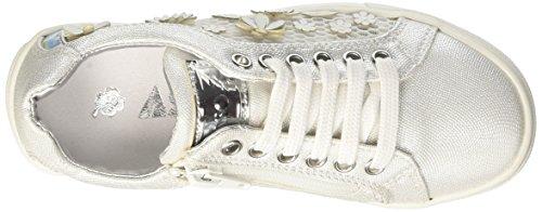 Asso I-61340, Zapatillas Para Niñas Bianco