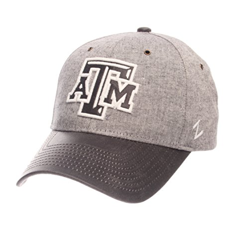 - Zephyr NCAA Texas A&M Aggies Men's The Supreme Cap, Adjustable, Gray