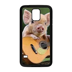 Custom Case for SamSung Galaxy S5 I9600 with Lovely Piggy shsu_1927447 at SHSHU