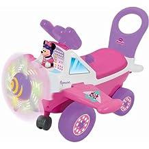 Kiddieland Disney Minnie Mouse Plane Light and Sound Activity Ride-On