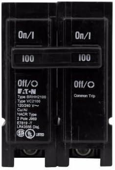 Cutler-Hammer BRHH2100 Eaton Westinghouse BRHH2100 2-POLE 100 AMP 64K 1