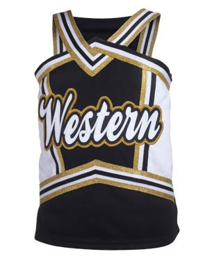 Youth Charisma Halter Top Cheer Shell (XX-Small)