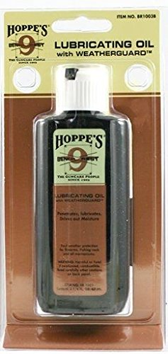 Hoppe's Bench Rest Lubricating Oil with Weatherguard 2 1/4 Ounce Squeeze Bottle