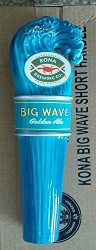Kona Brewing Co. Big Wave Golden Ale Shotgun Mini Beer Tap Handle (Rare Beer)
