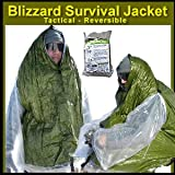 Blizzard Survival Jacket - Tactical / Reversible - Emergency Core Insulator
