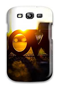 New Style Perfect Fit Love Letter Case For Galaxy - S3