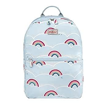 Cath Kidston - Kids Foldaway Backpack School Bag Lunchbag Sports Bag - British Designer - Rainbows