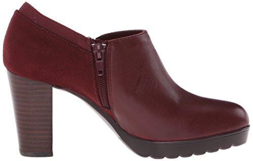 Bella Vita Zofia de las mujeres botas borgoña (Burgundy Super Suede)