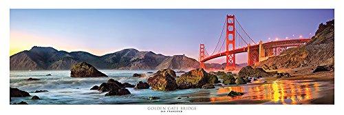 Award Winning Panoramic Art Print #3 - San Francisco Golden