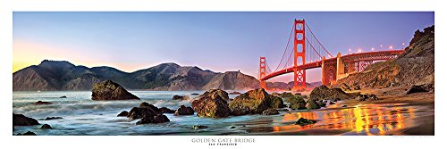 - Award Winning Panoramic Art Print #3 - San Francisco Golden Gate Bridge