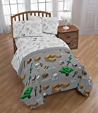 Jay Franco Minecraft Survive Full Comforter - Super Soft Kids Bedding Features - Fade Resistant Polyester Microfiber Fill