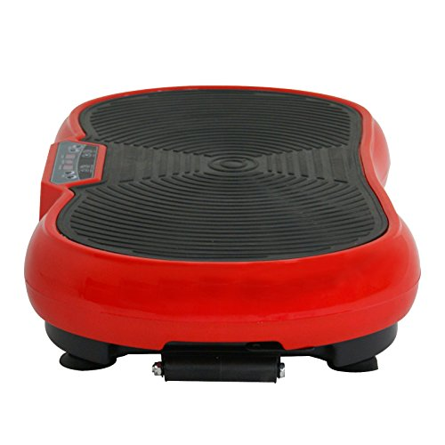 Fitness Vibration Platform Full Body Workout Machine Vibration Plate W/Remote Control and Balance Straps, Bluetooth Exercise Equipment(Red) by Nova Microdermabrasion (Image #7)