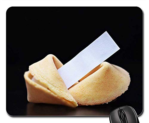 Mouse Pads - Fortune Cookies Sweet Pastries Pastries -