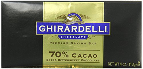 Extra Bitter (Ghirardelli Chocolate Baking Bar, Extra Bittersweet Chocolate, 4 oz., 6 Count)