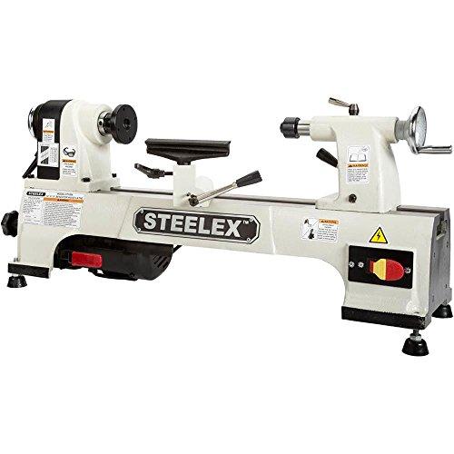 Steelex ST1008 Benchtop Wood Lathe, 10'' x 15'' by Steelex