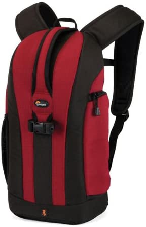 Lowepro Flipside 200 - Mochila para cámaras, color rojo: Amazon.es ...
