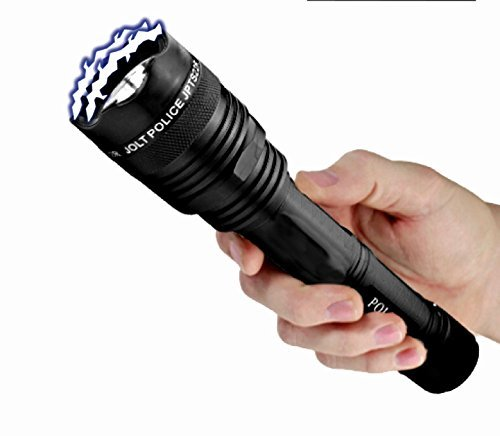 Streetwise Security Products JPTS55R Jolt Police 55,000,000 Tactical Flashlight, Black