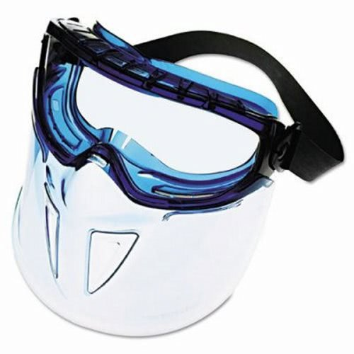 - Jackson Safety V90 Shield Clear Anti Fog Lens Protection Goggle with Blue Frame