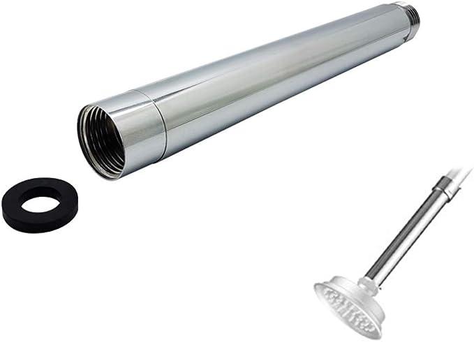 Tarente Extension Bras de Douche en Acier Inoxydable Tube Extender t/ête de Douche Extension Rod 10po