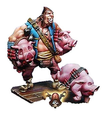 - Tale of War Ron & Bones Pirate Miniatures Wallace Mason with Pigs OOP Rum & Bones