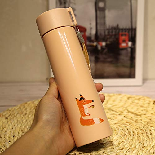Vacuum Heat Resistant Straight Body Mug with Portable Rope 8.8 Ounces (260ml) (Color : ()