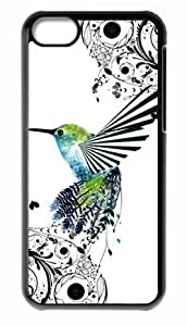 MMZ DIY PHONE CASEFor Apple iphone 6 4.7 inch Hummingbird Shell Case Snap On Cover