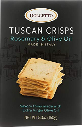 Dolcetto (NOT A CASE) Rosemary + Olive Oil Tuscan Crisps