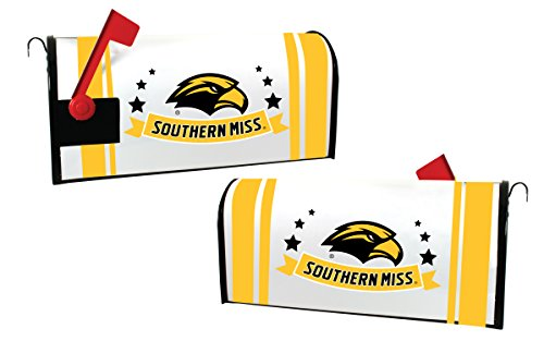 SOUTHERN MISS GOLDEN EAGLES MAILBOX COVER-UNIVERSITY OF SOUTHERN MISSISSIPPI MAGNETIC MAIL BOX COVER-NEW FOR ()