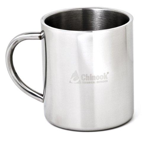 Chinook Timberline Double-wall 15 Ounces Mug, Outdoor Stuffs