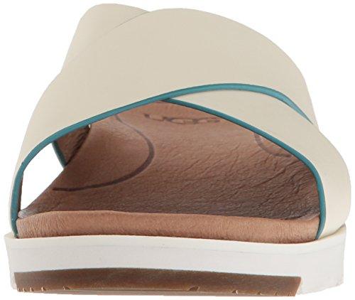 UK Women's EU 5 4 37 UGG Kari Sandal Flat White xS66WRqCBw