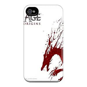 USMONON Phone cases Scratch-free Phone Case For Iphone Iphone 5 5s- Retail Packaging - Dragon Age Origins Game