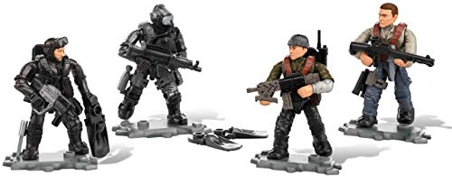 Mega Construx Call of Duty Seals Vs. Submariners, Multi Color