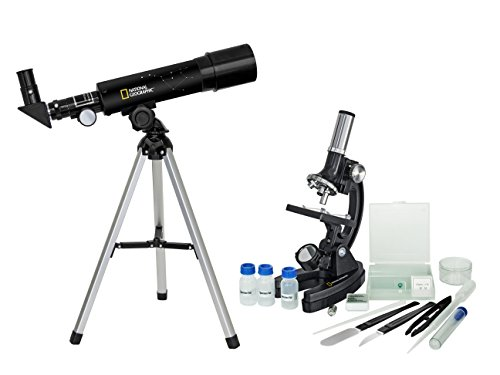 National Geographic Telescope 50/360 and Microscope Set 300-1200x