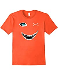 Halloween Big Scary Face One Blue Eye Shirt