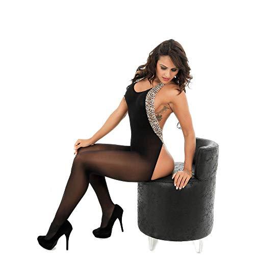Nuit Fesse Vêtements Lingerie ◕‿◕LianMengMVP Noir de Fishnet Bodysuit Ouvert Combinaison Femme sous vêtement 661BxwURq