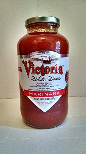 NEW! 40 oz. White Linen Marinara Sauce