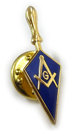 Trowel Masonic Freemason Tool Masonry Square Compass Lapel Pin