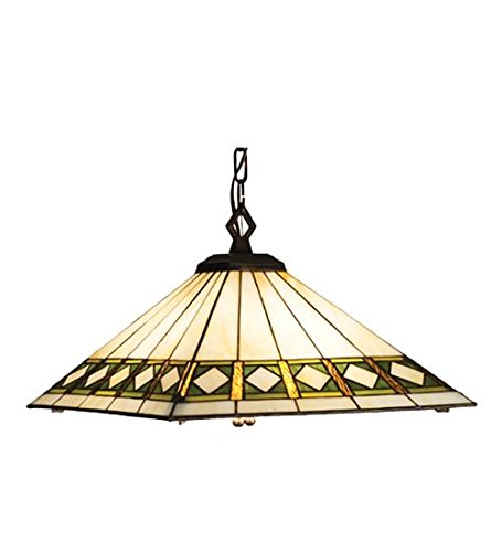 (Meyda Tiffany 17384 Lighting, 17 sq. in, Finish: Beige Green Da Avocado)