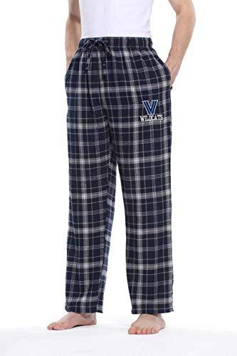 Villanova Wildcats Adult NCAA Team Pride Flannel Lounge Pants - Team Color, Small
