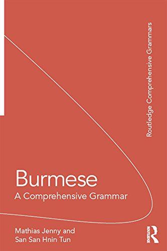 burmese a comprehensive grammar pdf