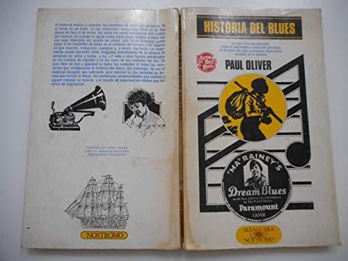 HISTORIA DEL BLUES traducción de Luisa Bravo Paul Oliver