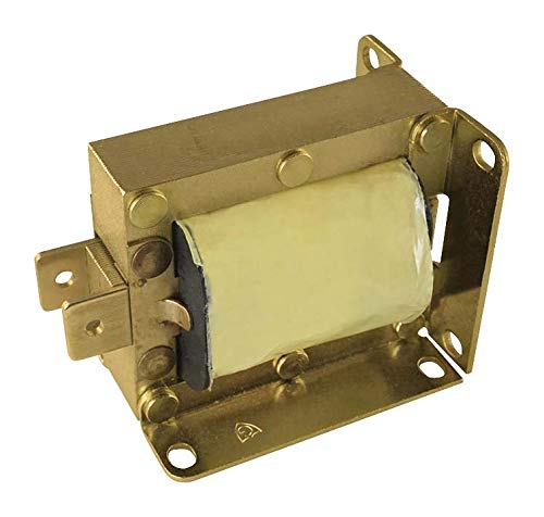 120a Solenoid - 14-C-120A - Linear Solenoid, 120 VAC, 18 ohm, 63 VA, 44.482 N, Pull, Continuous (14-C-120A)