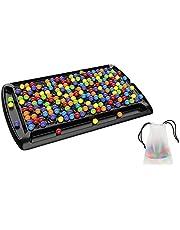 Rainbow Ball Elimineringsspel 241 st Rainbow Ball brädspel regnbåge pärla spel färg kognitiv matchande spel leksak pedagogiskt schackset för vuxna barn, 45 × 27 cm