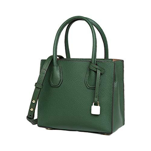 Green De Dark Pequeño Portátil Hombro Gray Mujer Para Color Klerokoh PqTa5w
