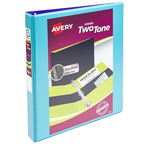 - Avery Two-Tone Durable View Binder, 1