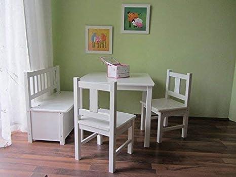 Best Of de jam Lätt: Mesa Infantil con 2 kinders Sillas y 1 banco ...